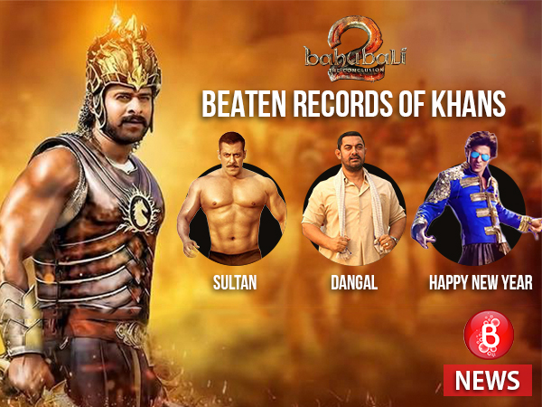 Woah! 'Baahubali 2' has beaten records of all three Khans in just the opening day