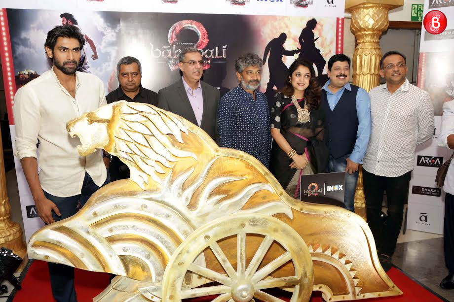 Rana Daggubati, SS Rajamouli, Ramya Krishnan and others