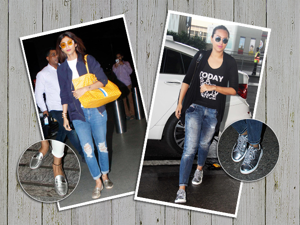 TREND ALERT! Bollywood's obsession with metallic footwear