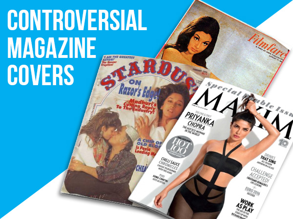 Check out the most controversial magazine covers featuring Bollywood stars!