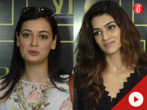 Watch: Dia Mirza, Kriti Sanon and others talk about IIFA 2017