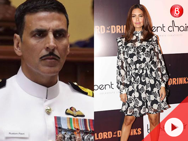 WATCH: Esha Gupta is happy on Akshay Kumar's National Award win for film 'Rustom'