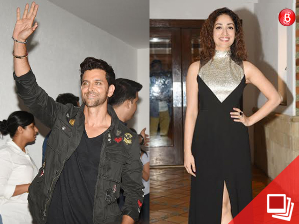 Hrithik Roshan, Yami Gautam, and team 'Kaabil' celebrate the success of the movie with fans