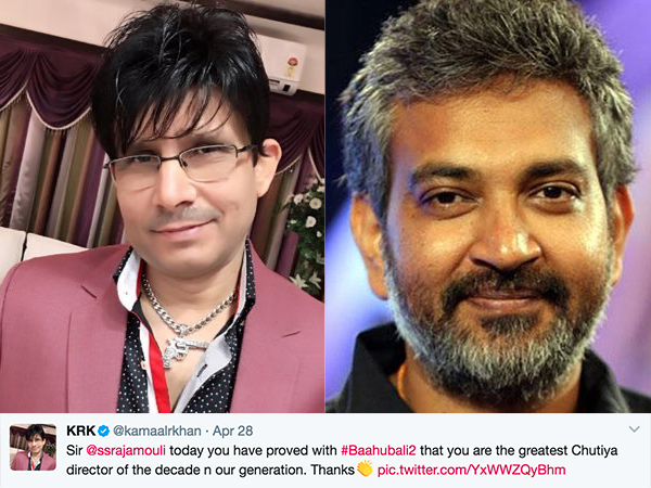 KRK reviews 'Baahubali 2', and we're scratching our heads as usual!