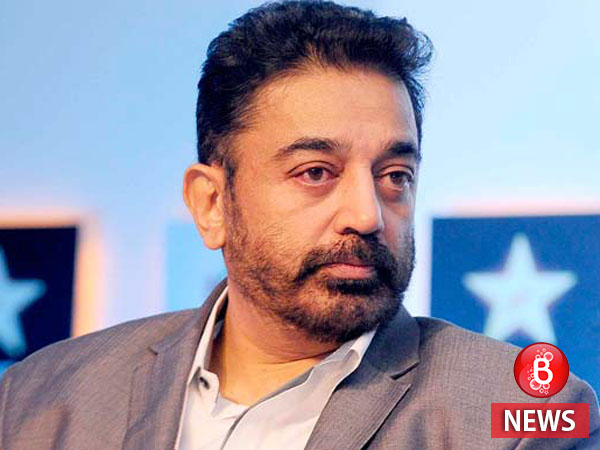OMG! Kamal Haasan climbs down three floors to escape fire at his residence