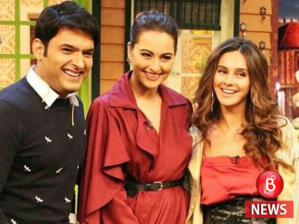 Sonakshi Sinha promotes 'Noor' on Kapil Sharma's show despite the rumours of it going off air