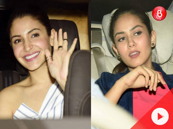 Watch: Anushka Sharma, Mira Rajput and many celebs attend 'Noor' special screening
