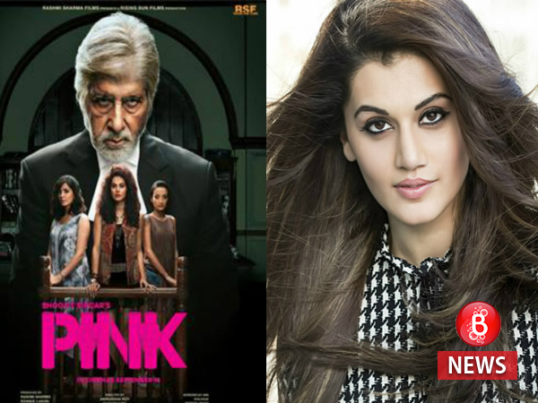 Taapsee Pannu opens up on 'PINK' winning a National Award