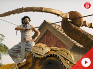 Prabhas in 'Jiyo Re Bahubali' song
