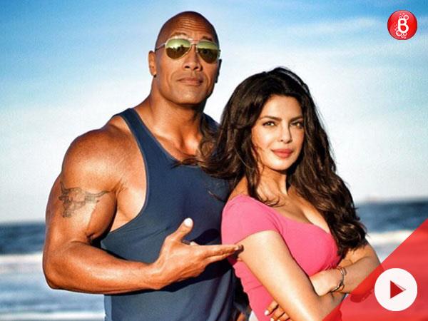Priyanka Chopra talks about Dwayne Johnson