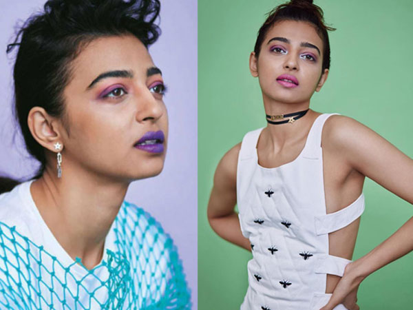 Radhika Apte makes quite a statement with various lip colours in her latest photoshoot
