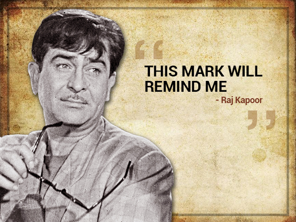 Raj Kapoor's interesting fact