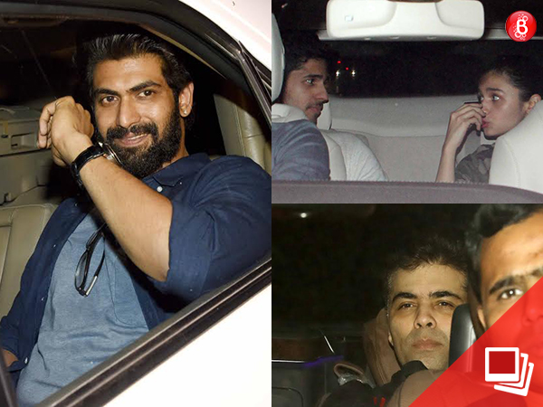 'Baahubali 2 – The Conclusion': Sidharth Malhotra, Alia Bhatt and others attend the screening
