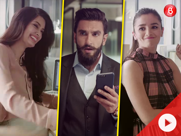 A 'suave' Ranveer Singh is tricked by Alia Bhatt and Diana Penty, and we can't stop laughing