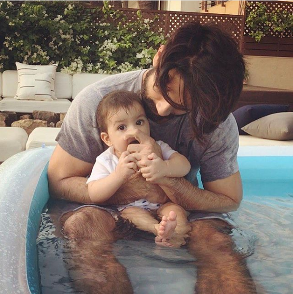 Trending: Shahid Kapoor Enjoys A Pool Date With Daughter Misha. Here's Pic