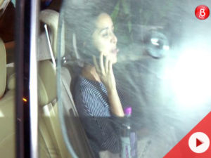Watch: Shraddha Kapoor was in a playful mood as she left Farhan Akhtar's house