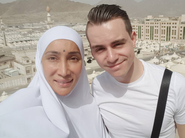 From spirituality to violence, Sofia Hayat's Mecca trip was eventful. VIEW PICS