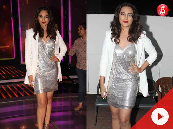 Watch: Sonakshi Sinha lights up the sets of 'Dil Hai Hindustani' with her shiny outfit