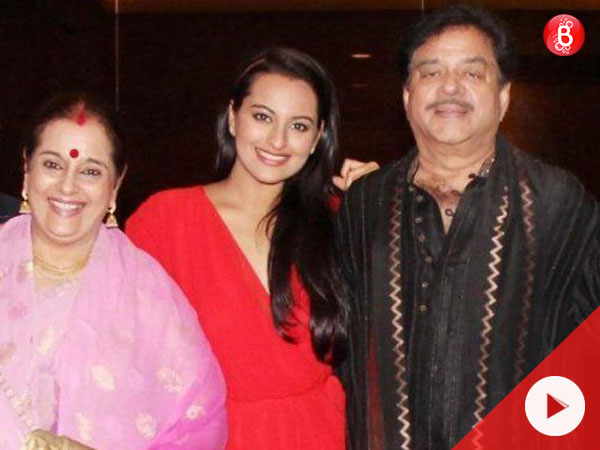 WATCH: Shatrughan Sinha and Poonam Sinha catch the screening of daughter Sonakshi's 'Noor'