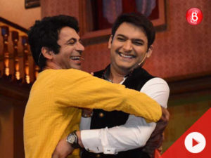 Kapil Sharma thanks Sunil Grover among other teammates on the 100th episode of his show
