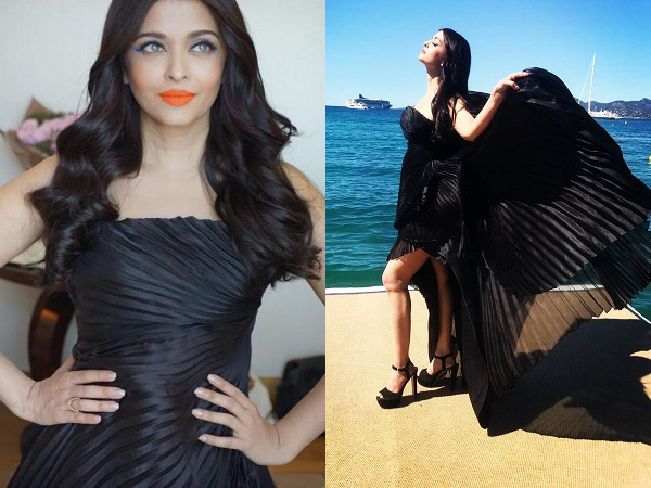 Aishwarya Rai Bachchan: A vision in black with a pop of colour on day four at Cannes