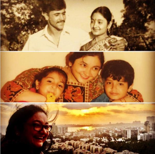 Anushka Sharma with her mother