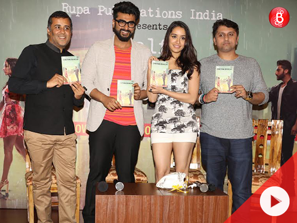 WATCH: Arjun Kapoor and Shraddha Kapoor feel privileged to launch 'Half Girlfriend' book