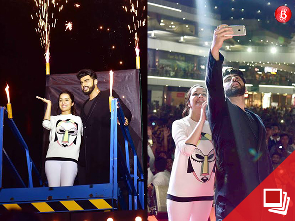 'Half Girlfriend': Arjun Kapoor and Shraddha Kapoor enthrall the crowd during promotions