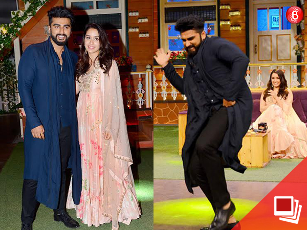 'Half Girlfriend': Arjun Kapoor and Shraddha Kapoor have a blast on 'The Kapil Sharma Show'