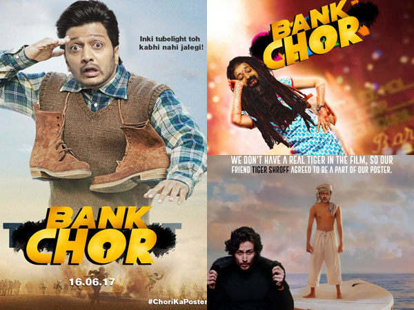 Team 'Bank Chor' recreates posters of other Bollywood films, and they are hilarious