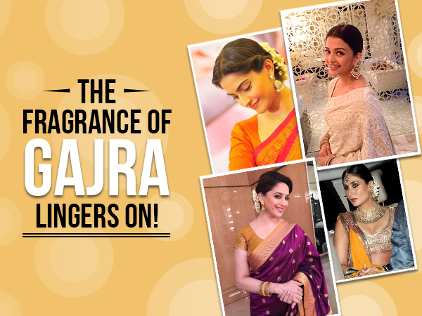 And the fragrance lingers on! Bollywood hotties and their love for gajras