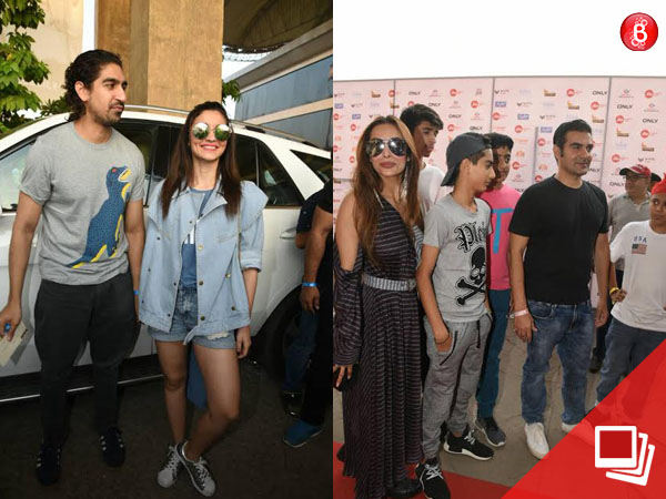 PICS: Bollywood stars start pouring in for Justin Bieber's concert; It's a dashing 'Company'