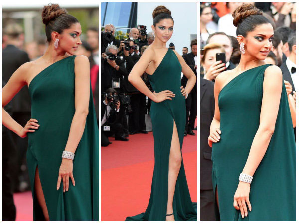 Thigh-high slit on Day 2! Deepika Padukone makes everyone go green with envy at Cannes!