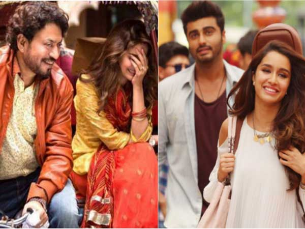 On second day, 'Hindi Medium' picks up while 'Half Girlfriend' remains stable