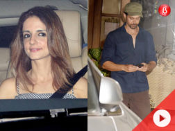 Hrithik Roshan and Sussanne Khan spotted together