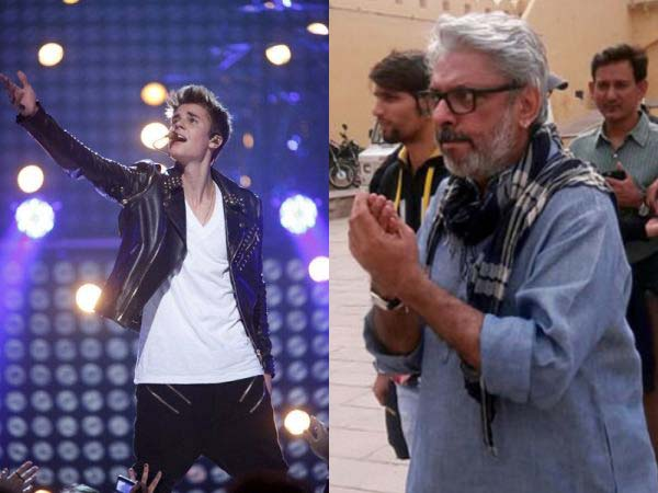 Diamonds for Bieber, curses for Bhansali; A third world country's obsession with a first world star