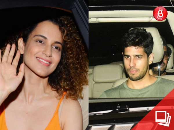 PICS: Kangana Ranaut, Sidharth Malhotra and many more attend 'Meri Pyaari Bindu' screening