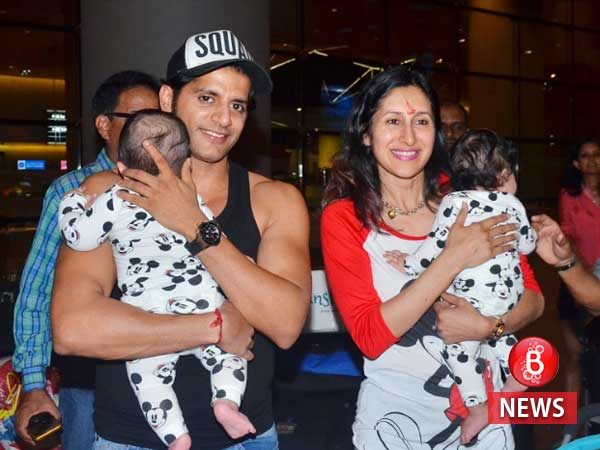 Karanvir Bohra finally reveals the name of his baby girls with this endearing post