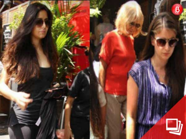 Pics: Katrina Kaif's lunch outing with her family in Bandra