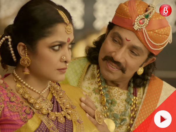 Watch: This video of Kattappa romancing Sivagami will leave you stumped!