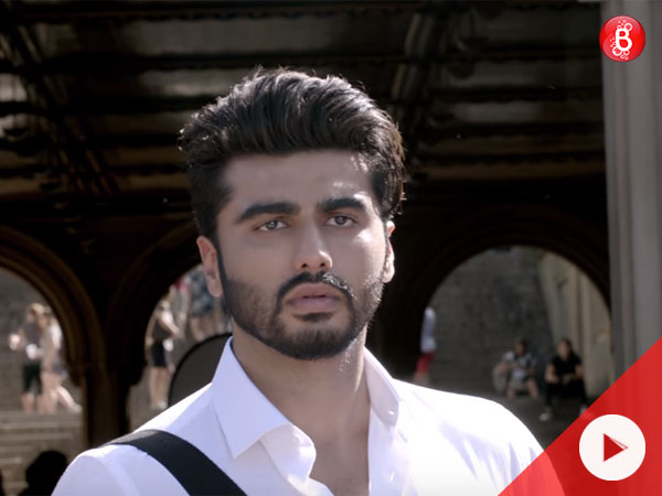 Arjun Kapoor nails it as Madhav Jha in the song 'Lost Without You' from 'Half Girlfriend'