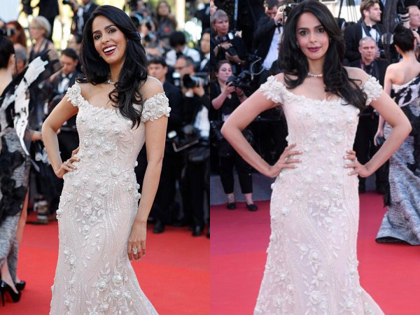 Cannes 2017: 'Murder' actress Mallika Sherawat graces the red carpet in a flowy gown!