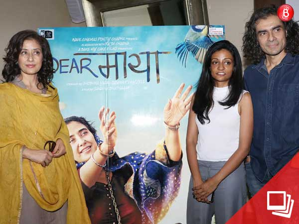 In Pics: Manisha Koirala promotes 'Dear Maya' with Imtiaz Ali