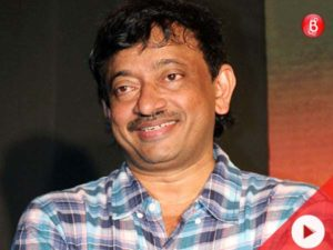 Watch: We spotted a smiling Ram Gopal Varma!