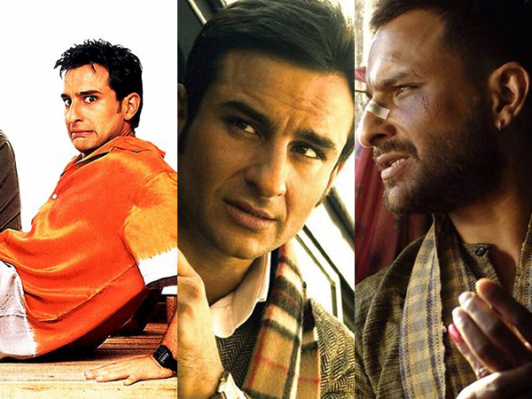 24 years of Saif Ali Khan: Movies that proved his versatility as an actor