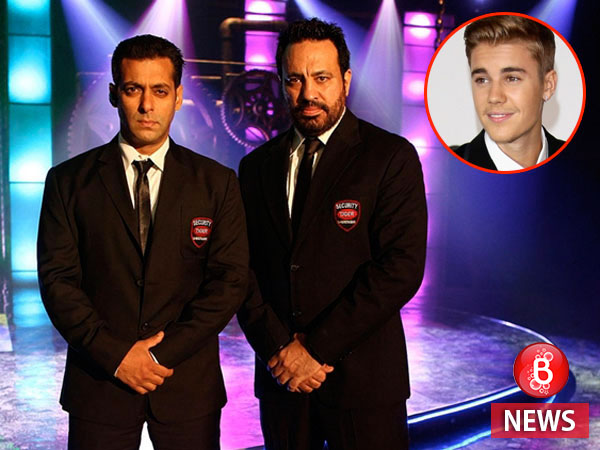 Salman Khan's bodyguard Shera to handle the security of Justin Bieber's tour in India