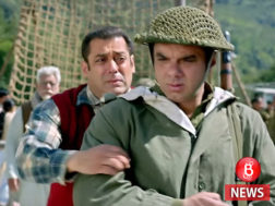 Salman Khan, Sohail Khan and late Om Puri in 'Tubelight' teaser