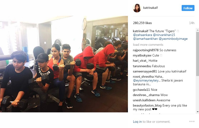 Katrina Sweating It Out At Gym Is Every Fitness Freak's Goal