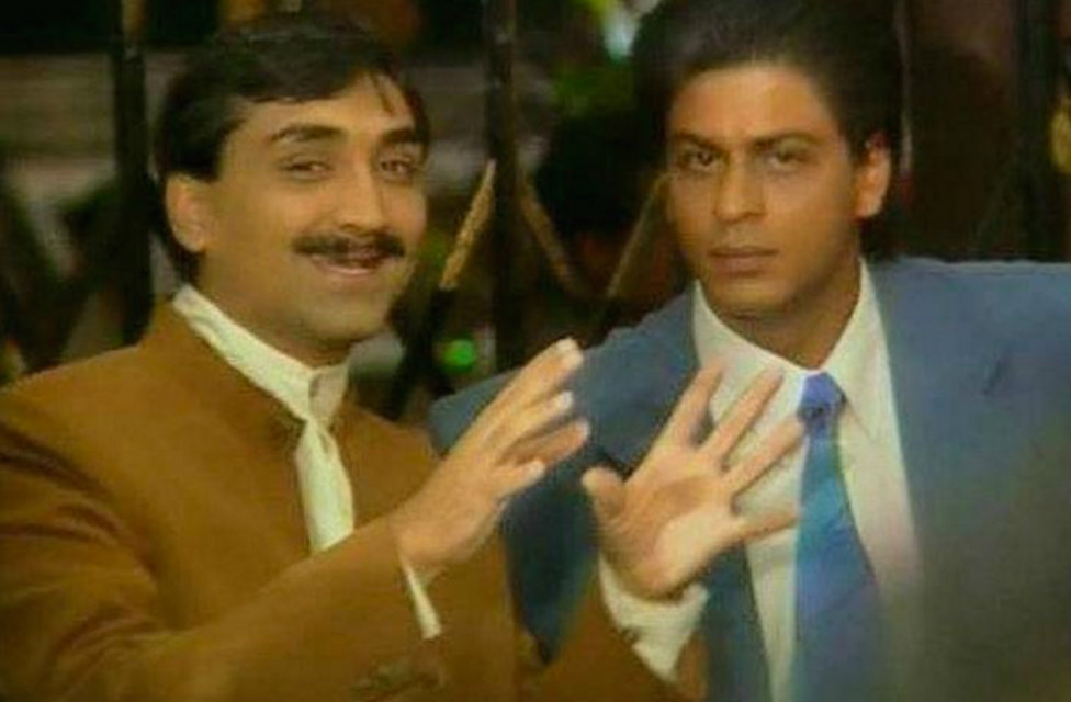 Shah Rukh Khan and Aditya Chopra