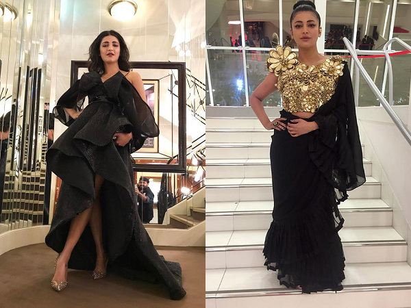 Slaying it like nobody's business! Shruti Haasan's mesmerising Cannes red carpet appearances
